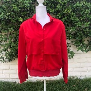 Vintage 1980s Red Pullover